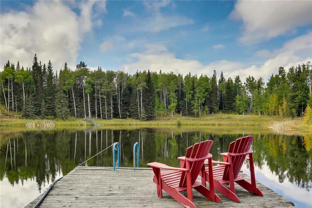 scenery amid acreage rural home near Calgary
