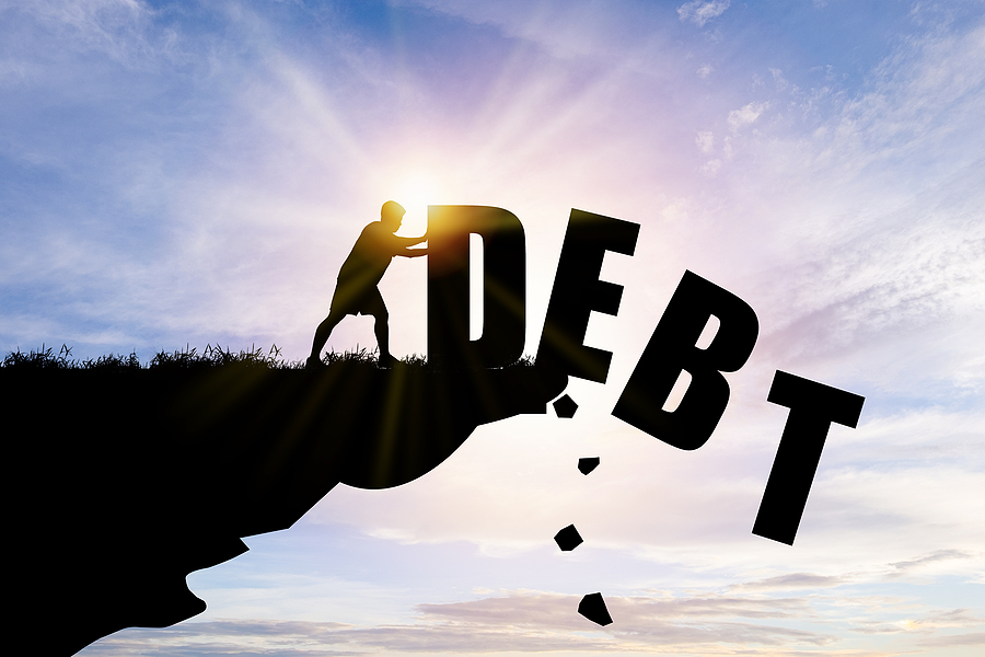 Get rid of debt when preparing to buy a home