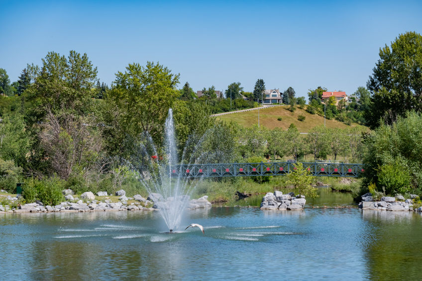 best communities to live in Calgary Eau Claire