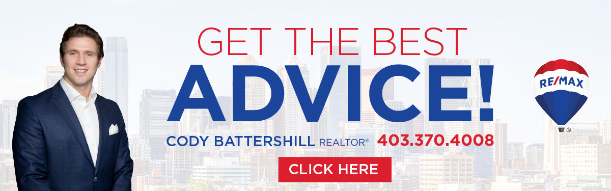 contact cody battershill for the best advice on Calgary real estate