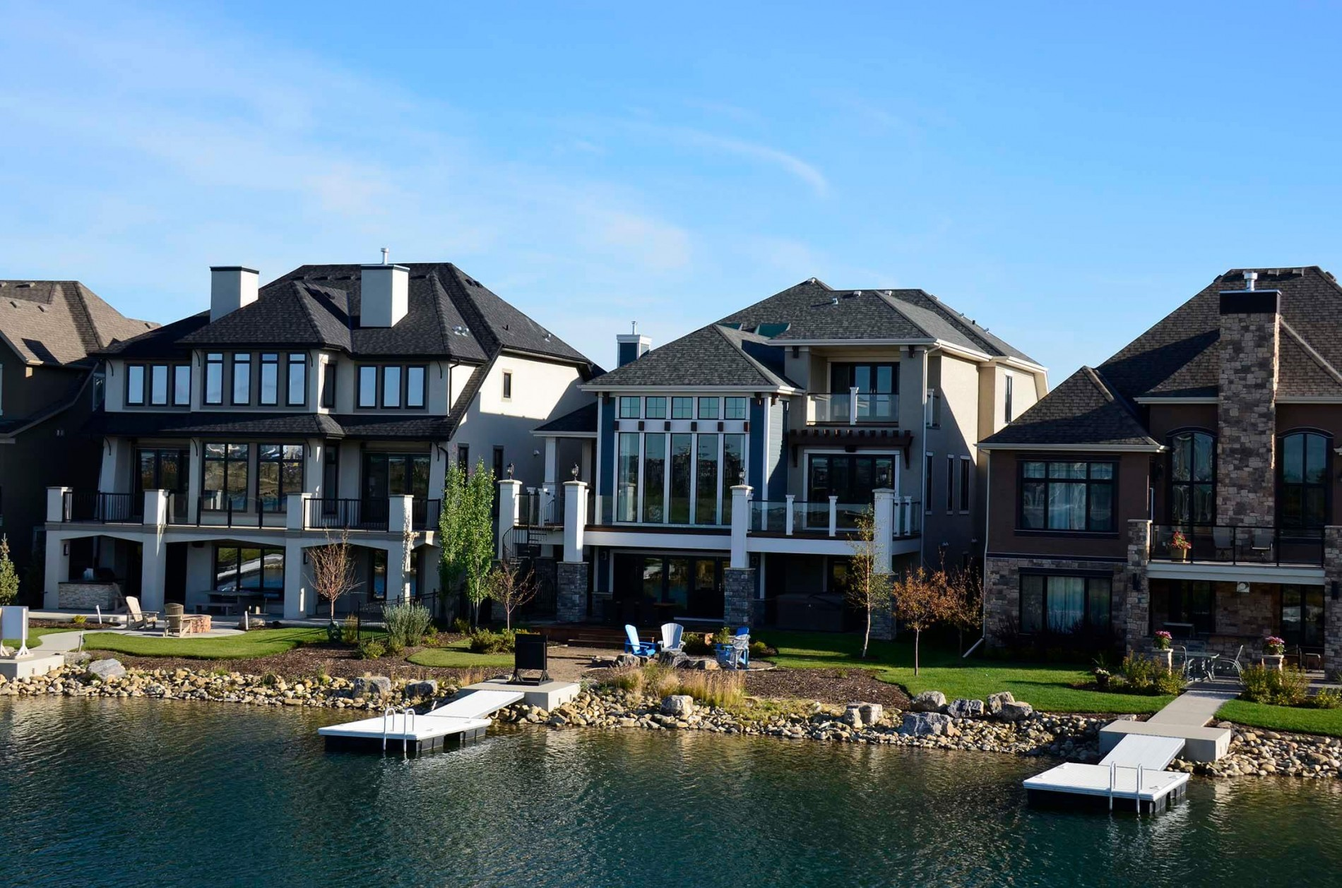 Mahogany Lakeside Living